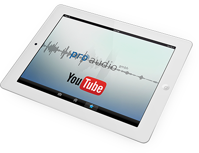 pro audio youtube